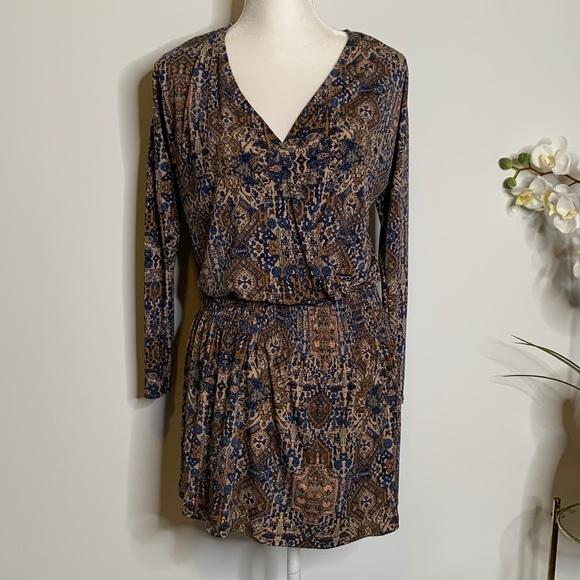 Veronica M Dresses & Skirts - Veronica m Paulina smocked drop Waist dress Xs